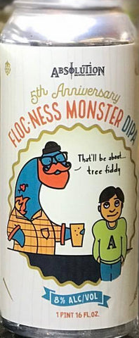 ABSOLUTION 5TH ANNIVERSARY FLOC-NESS MONSTER  DIPA 16oz can