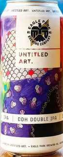 EAGLE PARK BREWING CO. UNTITLED ART. DDH DOUBLE IPA 16oz can
