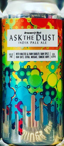 BROUWERIJ WEST ASK THE DUST IPA 16oz can