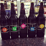Cycle Brewing SET - Monday Tuesday Wednesday Thursday Friday Imperial Stout SET LIMIT 1 set per person