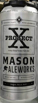 MASON ALE WORKS PROJECT X JUICY HAZY IPA 16oz can