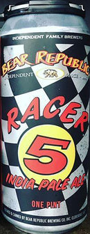 BEAR REPUBLIC BREWING RACER 5 IPA 16oz can
