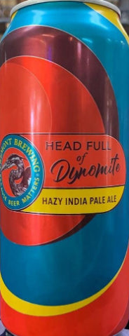 FEMONT BREWING HEAD FULL OF DYNOMITE HAZY IPA 16oz can