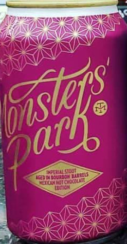 MODERN TIMES MONSTERS' PARK IMPERIAL STOUT 12oz can