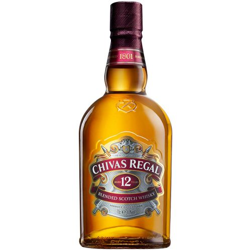 CHIVAS REGAL 12YR BLENDED SCOTCH WHISKEY