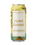 JuneShine Hard Kombucha Honey Ginger Lemon 16oz cans