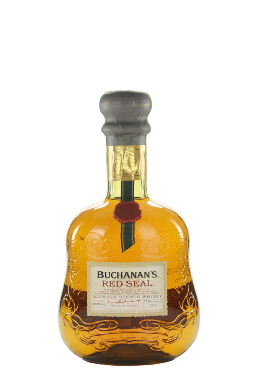 BUCHANANS RED SEAL BLENDED SCOTCH WHISKEY