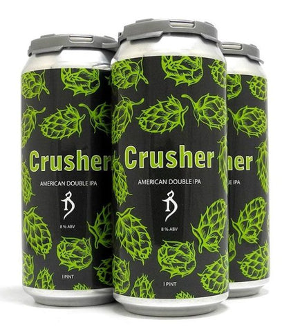 ALCHEMIST CRUSHER DOUBLE IPA 16OZ CAN LIMIT 1 CAN READ INFO LIVE 8AM PST 5/18