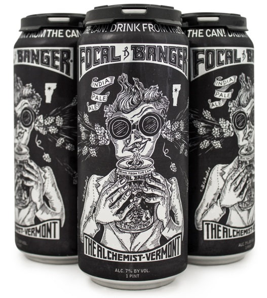ALCHEMIST FOCAL BANGER IPA 16OZ CAN LIMIT 1 READ