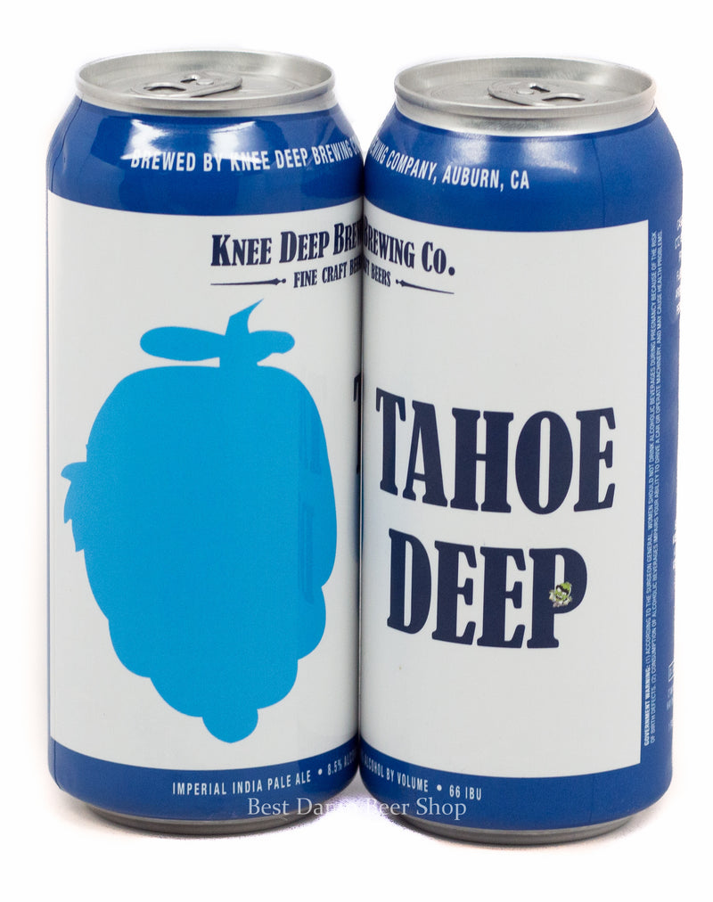 KNEE DEEP BREWING CO. TAHOE DEEP IMPERIAL IPA 16oz