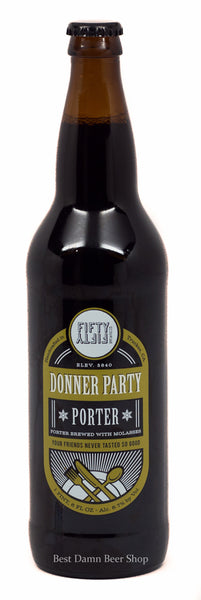 Fifty Fifty Brewing Donner Party Porter 22oz