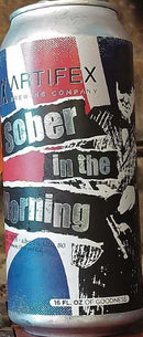 ARTIFEX BREWING SOBER IN THE MORNING WEST COAST DOUBLE IPA 16oz can