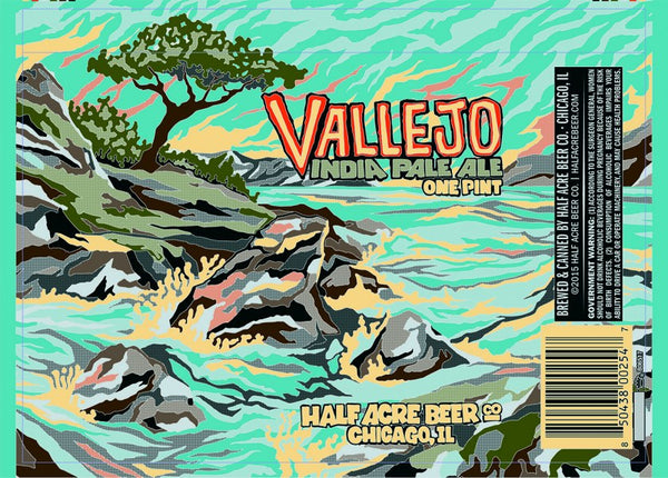 Half Acre Vallejo IPA 16oz cans