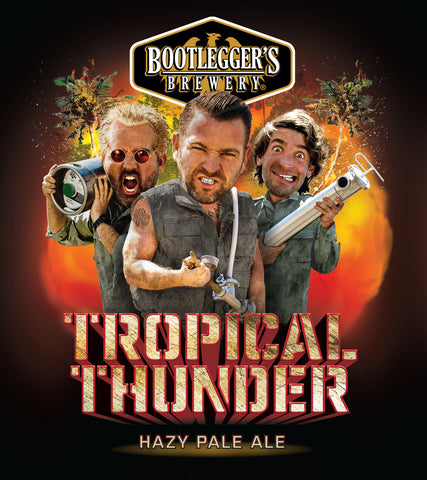 Bootleggers Tropical Thunder Hazy Pale Ale