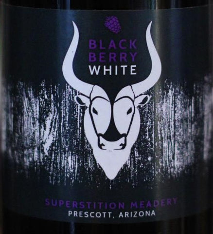 Superstition Meadery Black Berry White 500ml Cork Finished