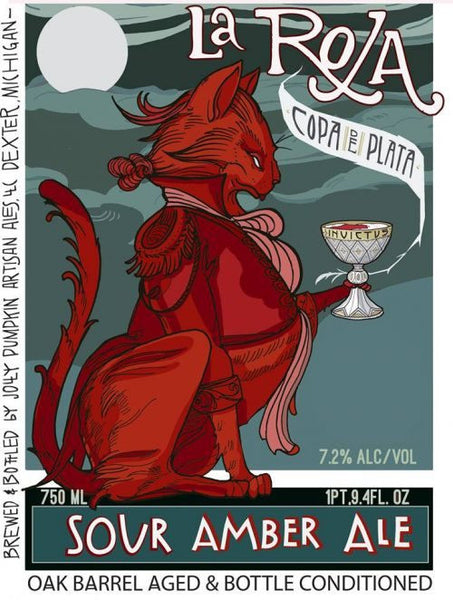 Jolly Pumpkin Copa de Plata La Roja 750ml