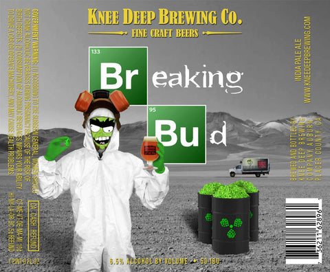Knee Deep Breaking Bud IPA 16oz CANS