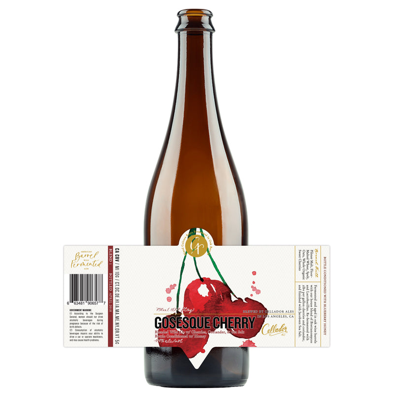 Cellador Ales Gosesque Cherry 375ML LIMIT 2