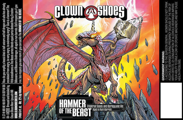 CLOWN SHOES HAMMER OF THE BEAST 22oz LIMIT 4