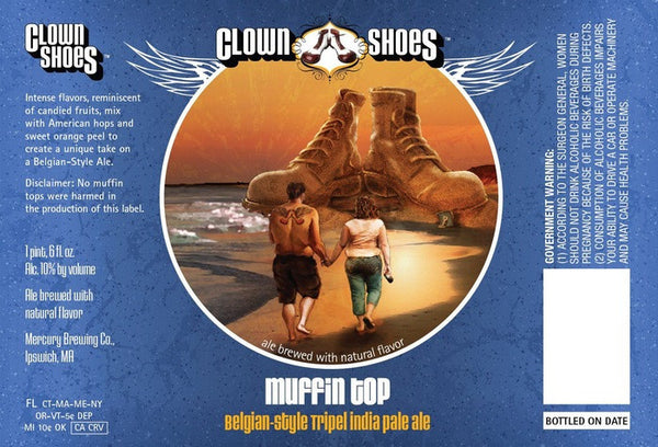 Clown Shoes Muffin Top Belgian Tripel IPA