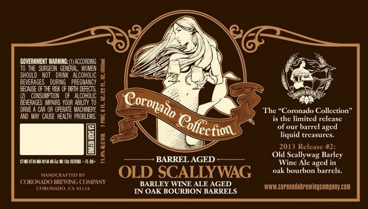 Coronado Bourbon Barrel-Aged Old Scallywag Barleywine