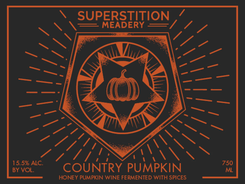 Superstition Meadery Country Pumpkin 750ml