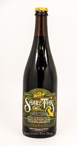 The Bruery Share This: O.C. 750ml LIMIT 3