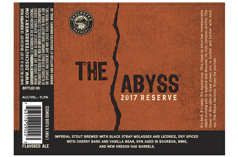 Deschutes The Abyss Imperial Stout 22oz