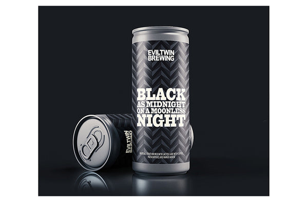 Evil Twin Brewing Black as Midnight on a Moonless Night 16oz Imperial Stout