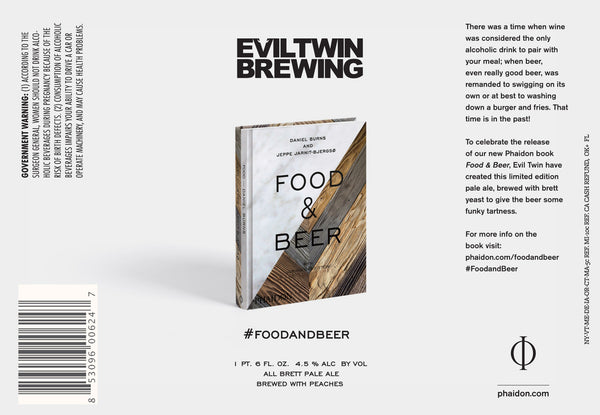 Evil Twin Food & Beer 22oz LIMIT 1