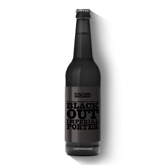 Evil Twin Black Out Imperial Porter