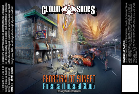 CLOWN SHOES EXORCISM AT SUNSET 22OZ LIMIT 3