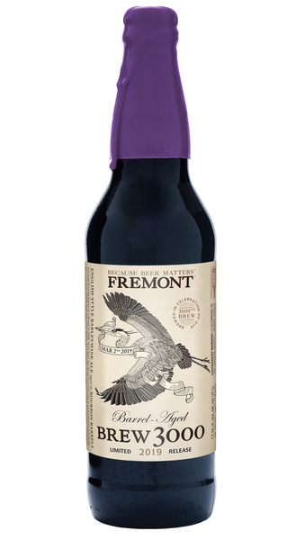 Fremont Brew 3000 Barrel Aged Barleywine Limited Release 22oz - LIMIT 1