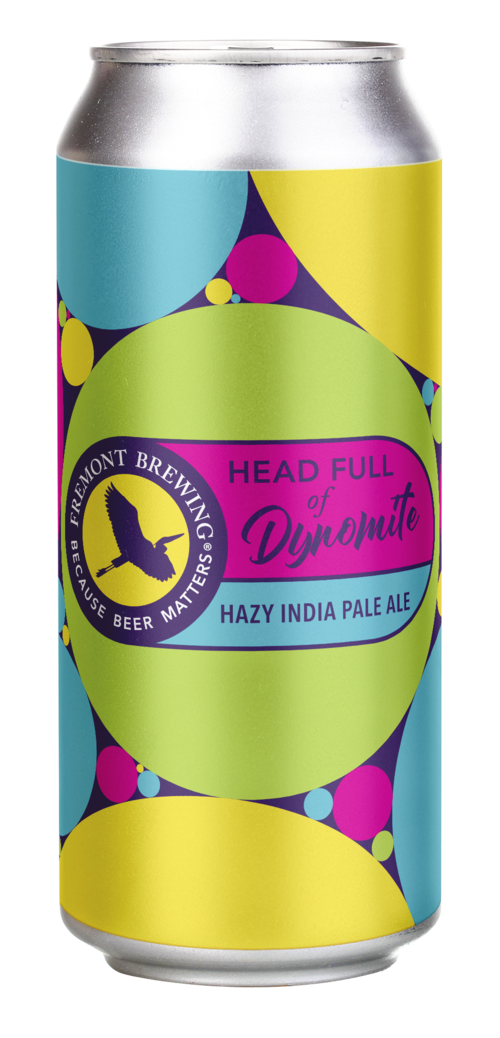 Fremont Head Full of Dynamite IPA VOLUME 4 16oz Can LIMIT 3