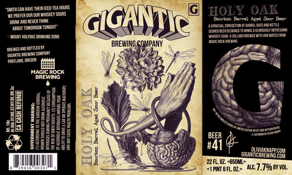 Gigantic Brewing / Magic Rock Holy Oak 22oz