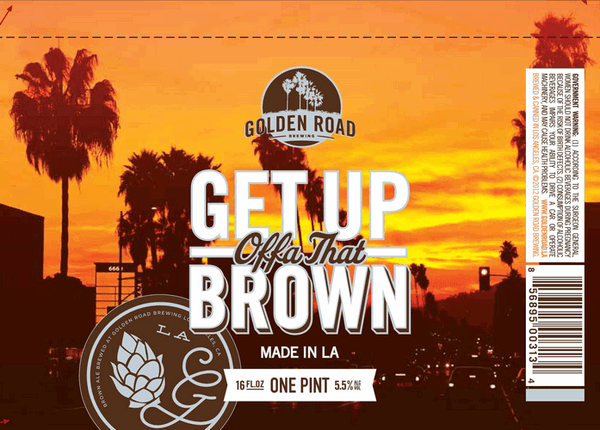 Golden Road Get Up Offa That Brown Ale