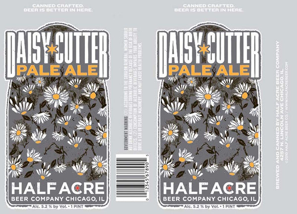 Half Acre Daisy Cutter Pale Ale 16oz cans