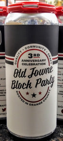 CHAPMAN CRAFTED BEER OLD TOWNE BLOCK PARTY: YEAR 3 WEST COAST IPA 16oz can
