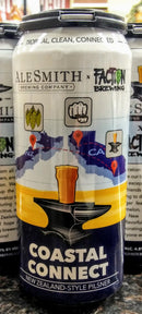 ALE SMITH BREWING CO. COASTAL CONNECT NEW ZEALAND STYLE PILSNER 16oz can