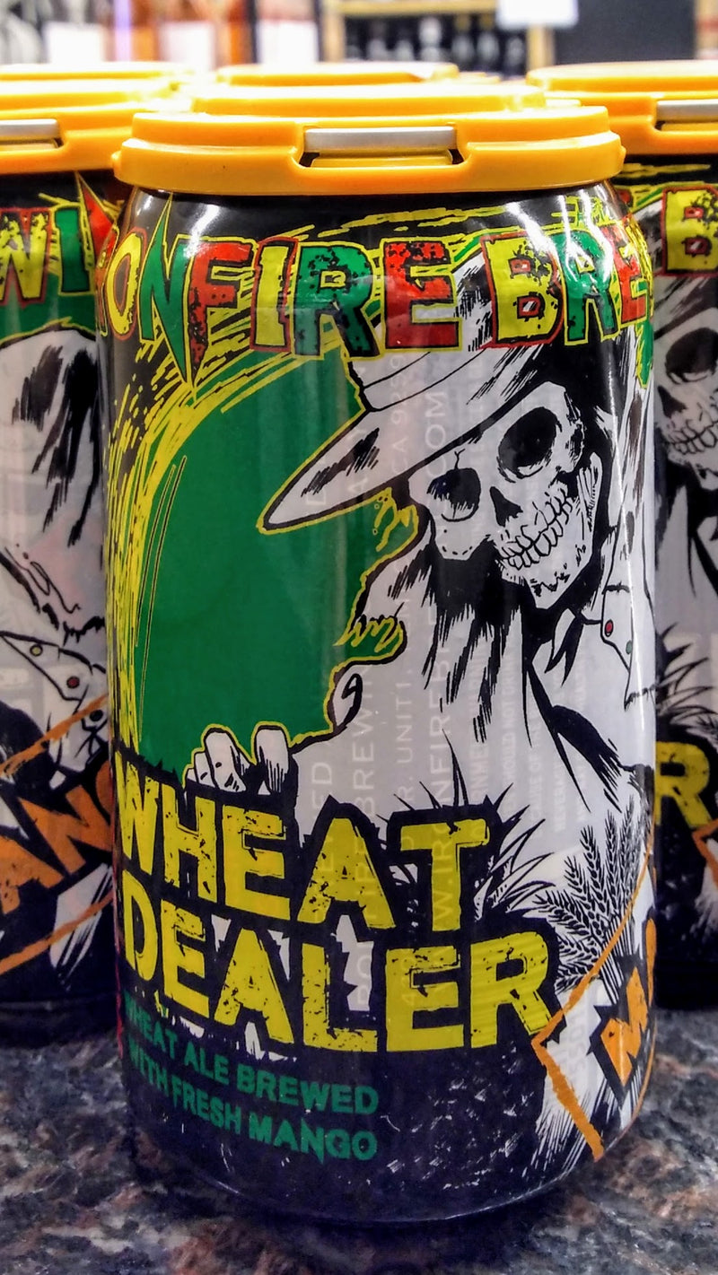 IRONFIRE BREWING CO. WHEAT DEALER WHEAT MANGO ALE 12oz can