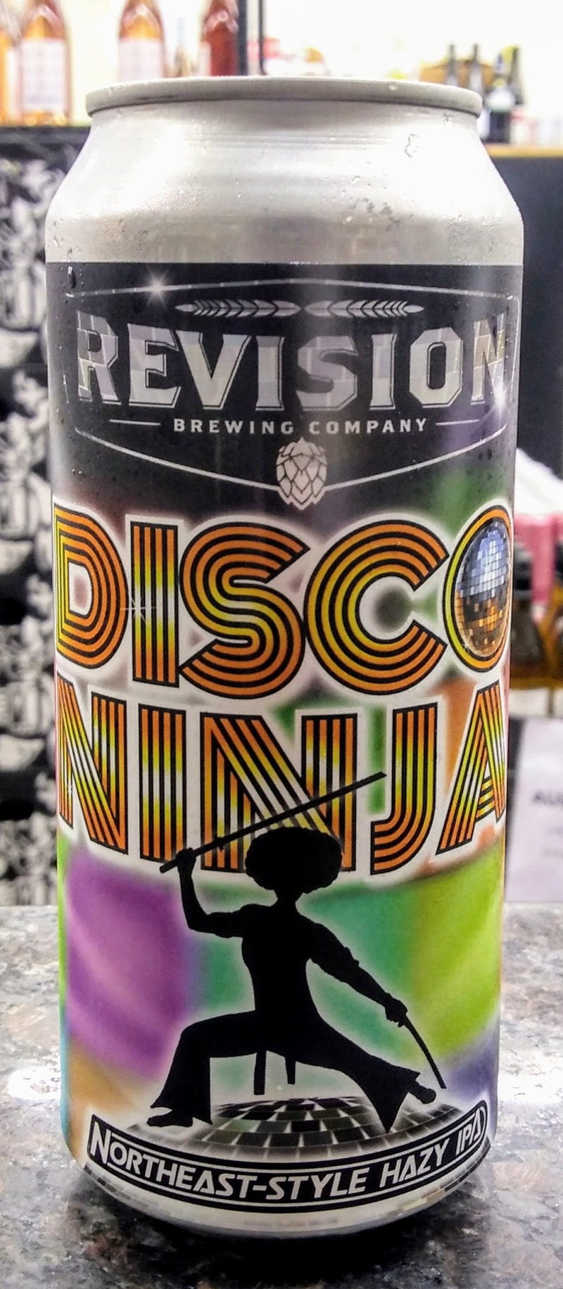 REVISION BREWING CO. DISCO NINJA NE HAZY IPA 16oz can