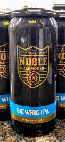 NOBLE ALE WORKS BIG WHIG IPA 16oz can