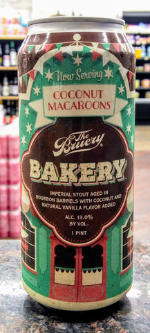 THE BRUERY BAKERY BA COCONUT IMPERIAL STOUT 16oz can