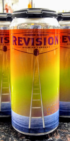 REVISION BREWING CO. DISTANCE HAZE HAZY DOUBLE IPA 16oz can