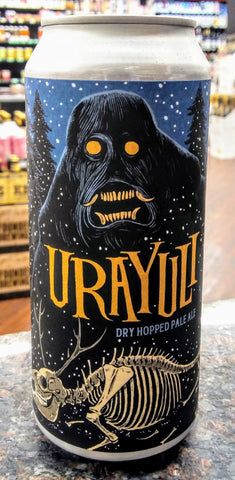 ABOMINATION BREWING CO. URAYULI DRY HOPPED PALE ALE 16oz can