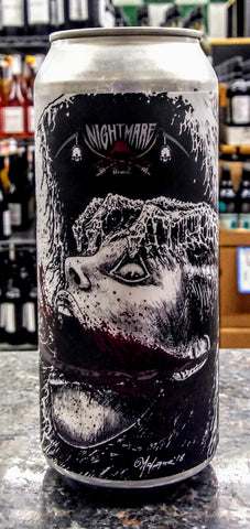 NIGHTMARE BREWING CO. GLASGOW SMILE  GOSE ALE 16oz can