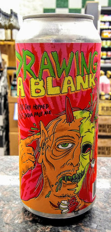 ABOMINATION BREWING CO. DRAWING A BLANK TRIPLE IPA 16oz can