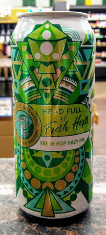 FREMONT BREWING HEAD FULL OF FRESH HOPS HAZY IPA 16oz can