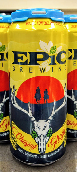EPIC BREWING CO. CHASING GHOSTS HAZY DOUBLE IPA 16oz can