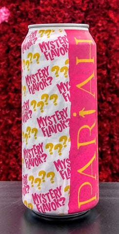 PARIAH BREWING CO MYSTERY FLAVOR BERLINER WEISSE ALE 16oz can